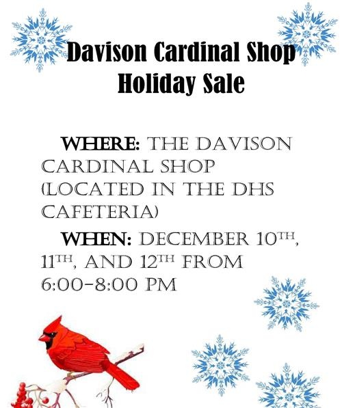 Cardinal Shop Holiday Open House