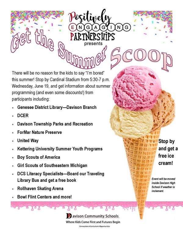 Get the Scoop on Things Your Child Can Do This Summer!